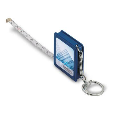 Image of Key ring w/ flexible ruler