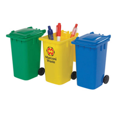 Image of Eco Wheelie Bin Pen Pot