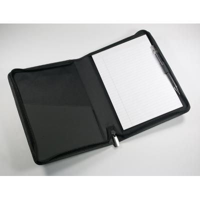Image of A5 PU Zipped Folder