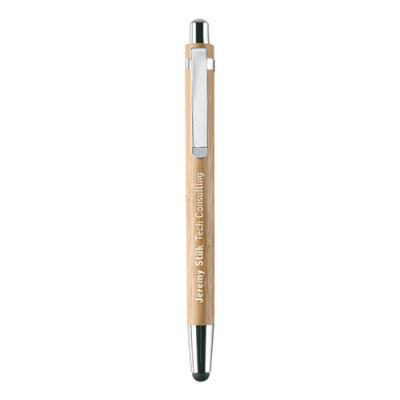 Image of Bamboo pen and pencil set