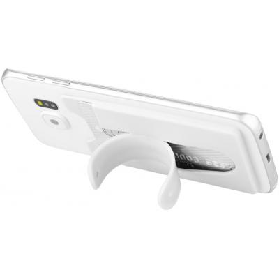 Image of Silicone Phone Wallet with Stand