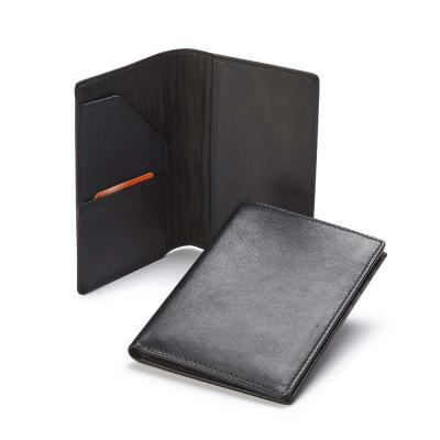 Image of Sandringham Nappa Leather Passport Wallet with RFID Protection