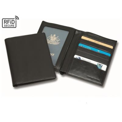 Image of Sandringham Nappa Leather Deluxe RFID Passport Wallet